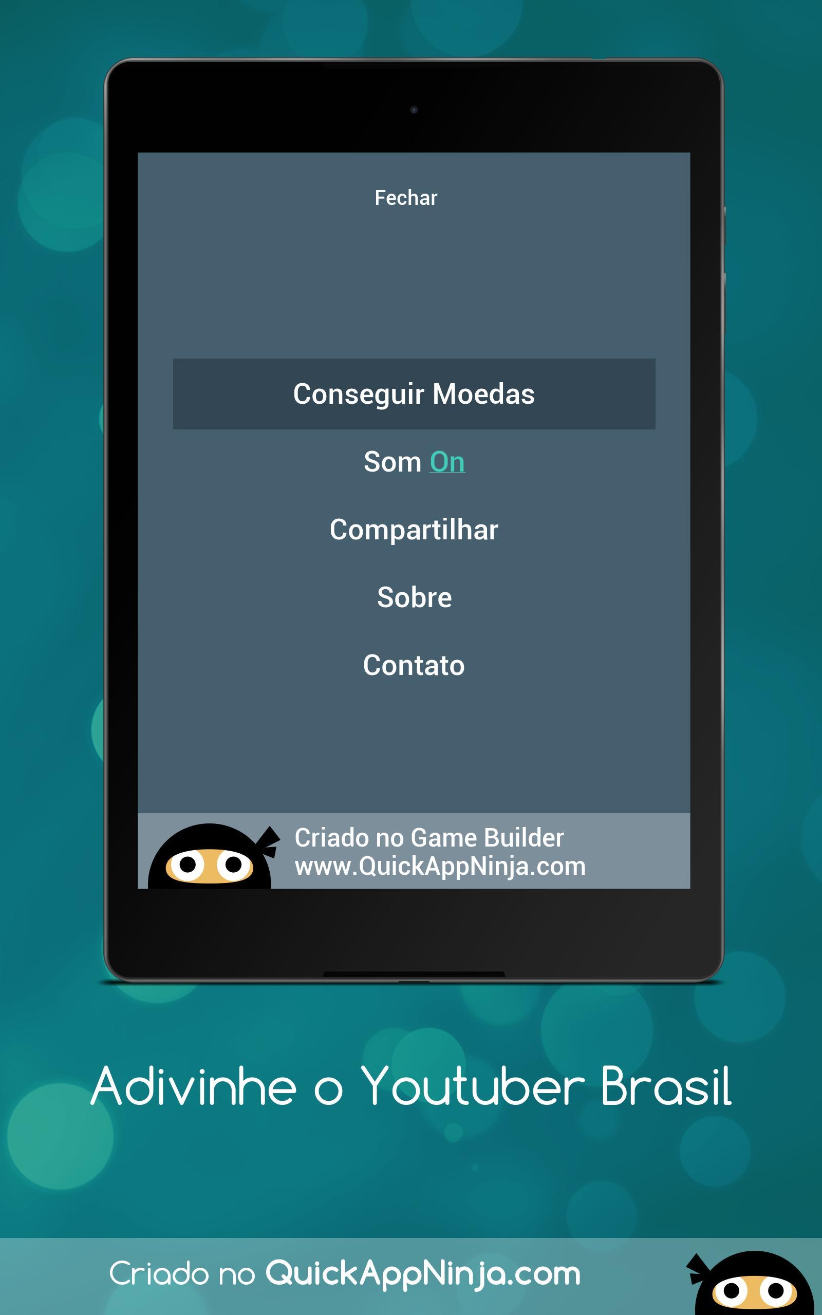 Adivinhe o Youtuber Brasil 9 تصوير الشاشة