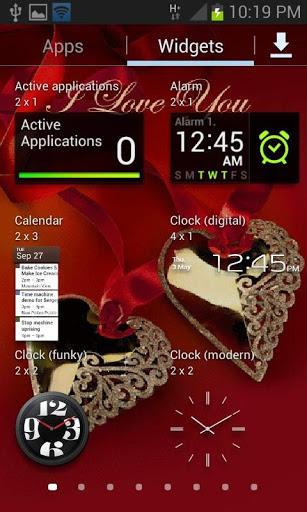 Heart Lockets Live Wallpaper 3 تصوير الشاشة