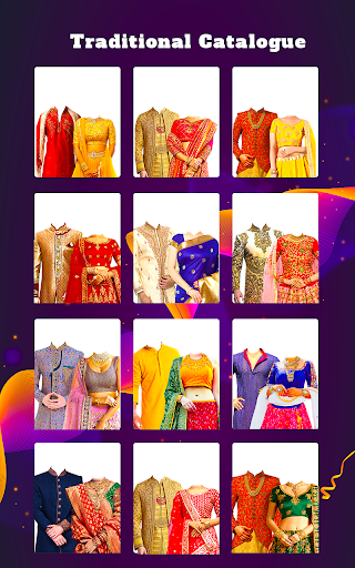 Couple Tradition Photo Suits - Traditional Dresses screenshot 4