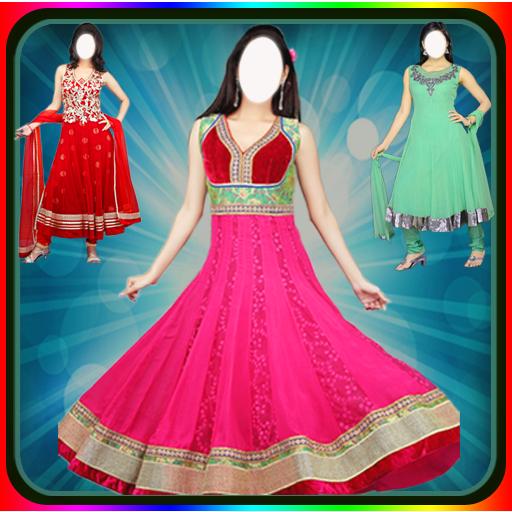 Salwar Suit For Girls : Women Salwar Photo Suit أيقونة