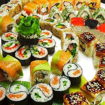 Sushi Rolls Recipes Free скриншот 1