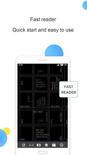 CAD Reader-Fast Dwg Viewer and Measurement Tool 1 تصوير الشاشة