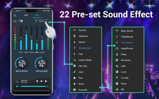 Efek musik Equalizer-Audio screenshot 12