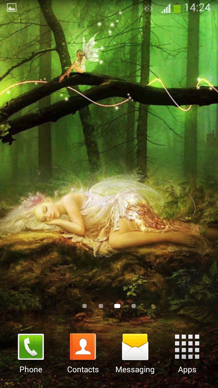 Fairy Tale Live Wallpaper screenshot 7