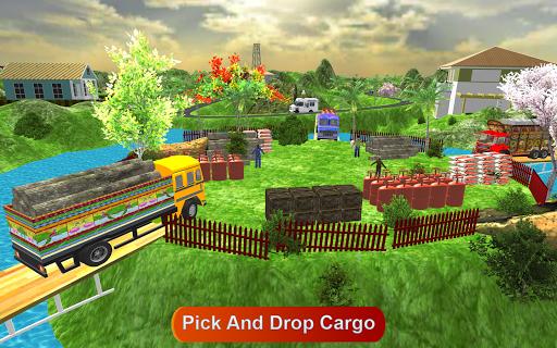 Indian Cargo Truck Driver : Truck Games screenshot 1