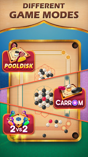 Carrom Friends : Carrom Board & Pool Game 10 تصوير الشاشة