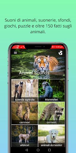 150 suoni animali screenshot 1