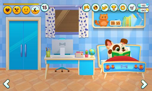 Duddu -حيواني الأليف الافتراضي 6 تصوير الشاشة