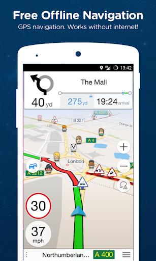 Navmii GPS World (Navfree) 1 تصوير الشاشة
