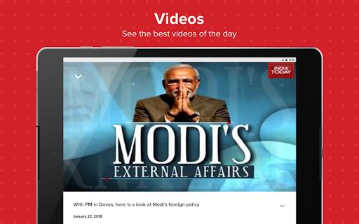 Latest English News & Free Live TV by India Today 8 تصوير الشاشة