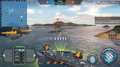 Warship Attack 3D screenshot 2