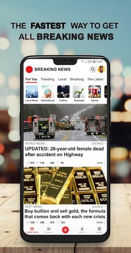 US Breaking News: Latest Local News & Breaking screenshot 1