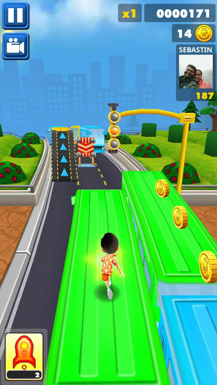 Subway Surf : Run with Friends screenshot 2