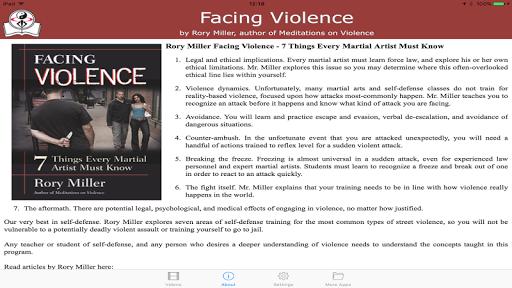 Facing Violence / Rory Miller screenshot 4