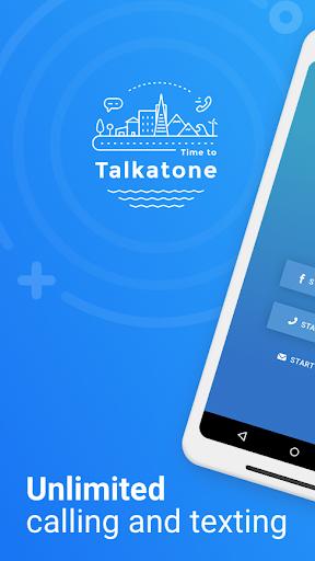 Talkatone: Free Texts, Calls & Phone Number screenshot 1