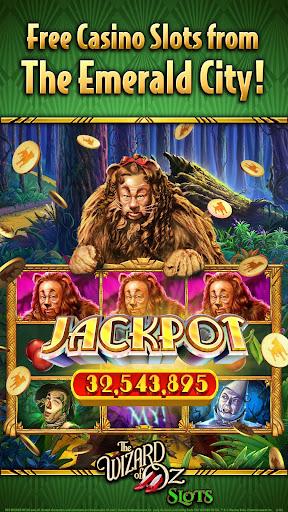 Wizard of OZ Free Slots Casino Games 5 تصوير الشاشة