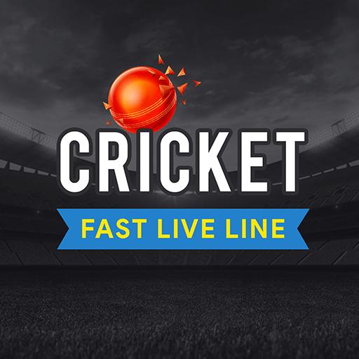 Cricket Fast Live Line أيقونة