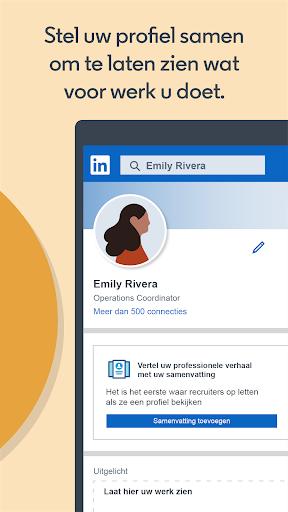 LinkedIn: Vacatures Zoeken   Zakenrelaties screenshot 5