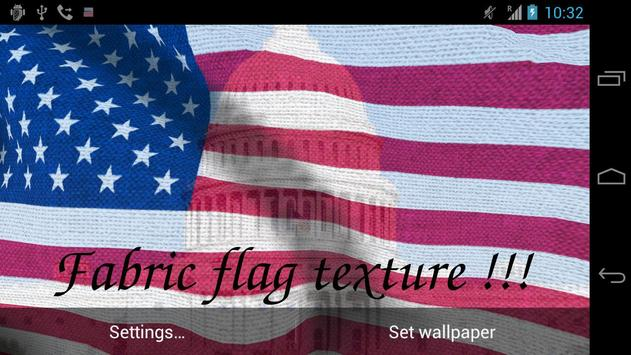 US Flag Live Wallpaper screenshot 8