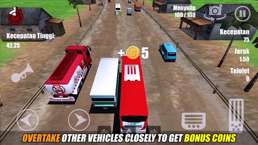 Telolet Bus Driving 3D screenshot 6