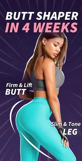 Buttocks Workout - Hips, Legs & Butt Workout screenshot 1