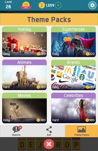Pictoword: Fun Word Games & Offline Brain Game screenshot 13