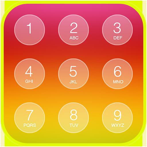 Folding Keypad Lock Screen أيقونة