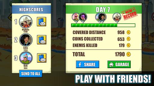 Mad Day - Truck Distance Game 4 تصوير الشاشة