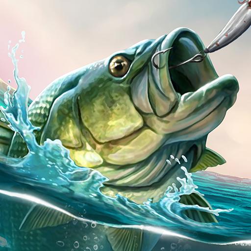 ألعاب صيد السمك البحر الرياضة الصيد محاكي أيقونة