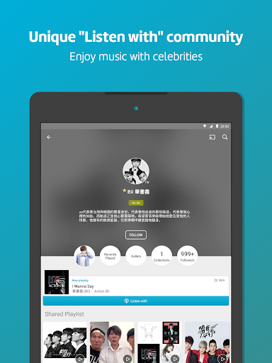 KKBOX - Music and podcasts, anytime, anywhere! 9 تصوير الشاشة