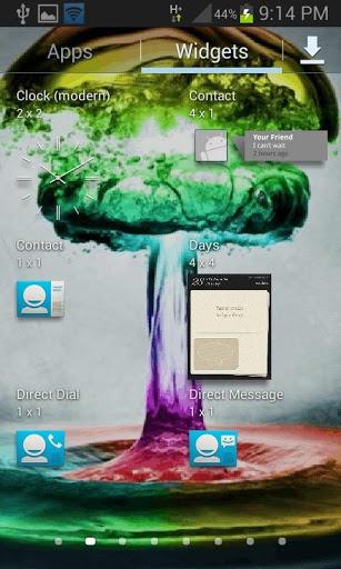 Colorful Water Live Wallpaper screenshot 3