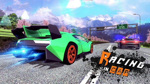 Racing In Car 3D 4 تصوير الشاشة