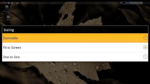 bVNC: Secure VNC Viewer screenshot 9