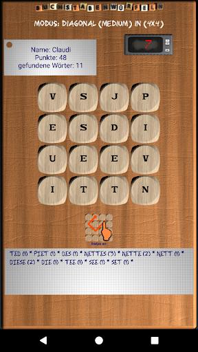 Buchstabenwürfeln Lite screenshot 1