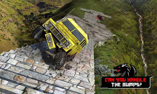 Cruiser Car Stunts: Dragon Road Driving Simulator screenshot 3