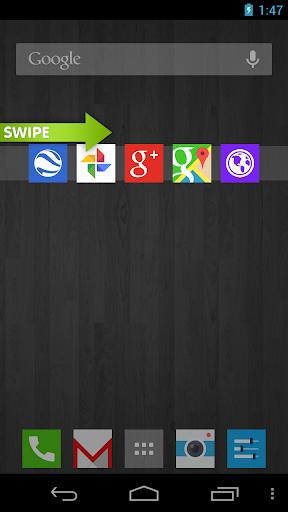 CircleLauncher Swipe screenshot 6