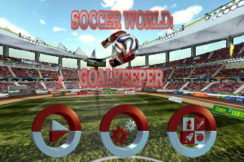 Goalkeeper Soccer World 3 تصوير الشاشة