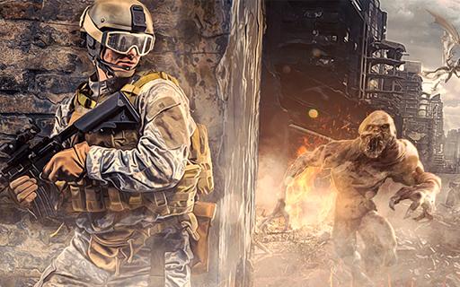 ZOMBIE Beyond Terror: FPS Survival Shooting Games screenshot 1