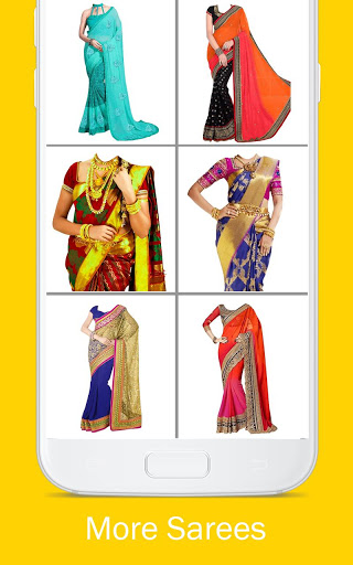 Woman Fancy Saree Photo Suit Editor 14 تصوير الشاشة