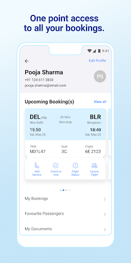 IndiGo-Flight Ticket Booking App screenshot 7