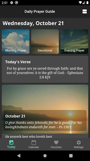 Daily Prayer Guide screenshot 1
