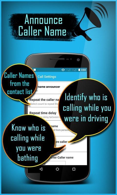 Caller Name Announcer - Speaker - Ringtone maker 4 تصوير الشاشة