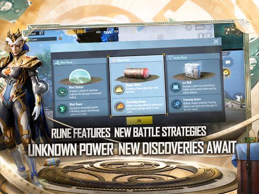 PUBG MOBILE - RUNIC POWER screenshot 13