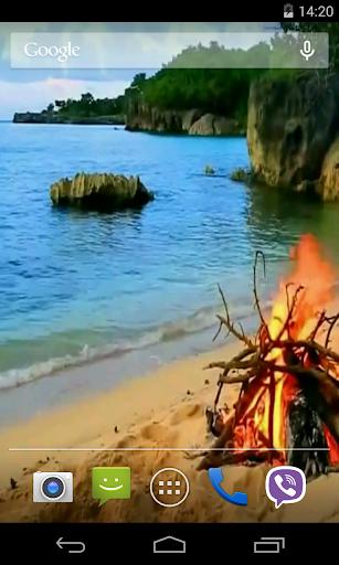 Bonfire Video Live Wallpaper screenshot 3