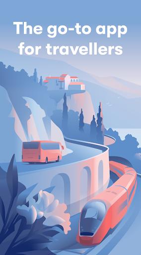 Omio: Travel by Train, Bus and Flight in Europe 1 تصوير الشاشة