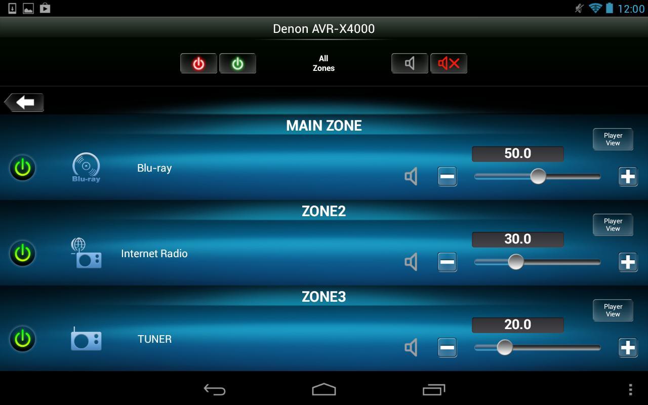 Denon Remote App screenshot 15