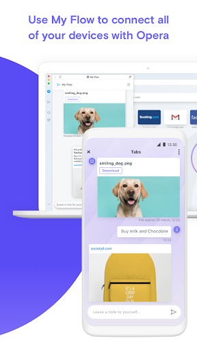 Opera Touch: the fast, new web browser screenshot 7