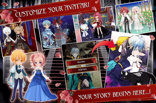 Blood in Roses - otome game / dating sim #shall we screenshot 8