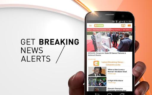 Citizen News screenshot 1