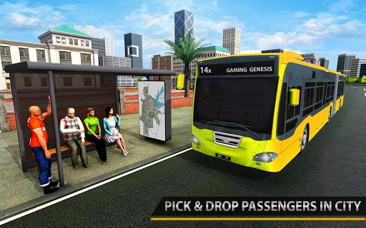 Modern City Bus Driving Simulator | New Games 2020 5 تصوير الشاشة